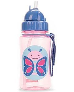 Skip Hop: Zoo Straw Bottle - Butterfly - 15% OFF!