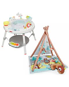 Skip Hop: Silver Lining Cloud Activity Centre + Camping Cub Activity Gym (Special Bundle Set) - RM499 OFF!!