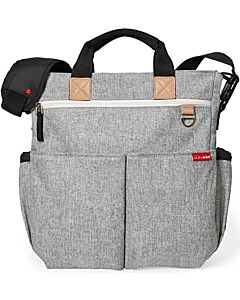 Skip Hop: Duo Signature Diaper Bag - Grey Melange - 15% OFF!!