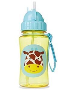 Skip Hop: Zoo Straw Bottle - Giraffe - 15% OFF!