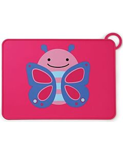 Skip Hop: Zoo Fold & Go Silicone Kids Placemat - Butterfly - 15% OFF!!