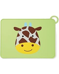 Skip Hop: Zoo Fold & Go Silicone Kids Placemat - Giraffe - 15% OFF!!