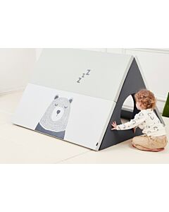 ALZiP® Mat 3-in-1 Play Mat House Tent   140*100*87cm   Sleeping Bear