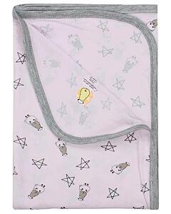Baa Baa Sheepz: Single Layer Blanket Small Star & Sheepz (Pink) - 10% OFF!!