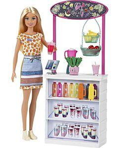 Barbie® Smoothie Bar Playset & 10 Accessories (3Y+) - 10% OFF!!
