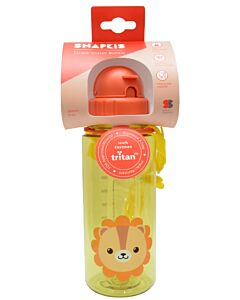 Snapkis: Straw Water Bottle 500ml | Lion - 30% OFF!!