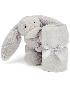 Jellycat: Bashful Silver Bunny Soother (34cm)