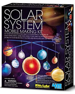 4M Kidz Labs | 3D Solar System Mobile Making Kit - 15% OFF!!