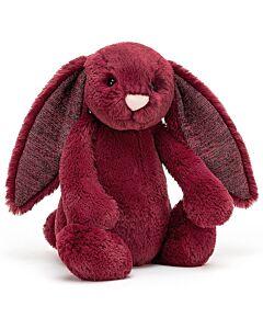 Jellycat: Bashful Sparkly Cassis Bunny - Medium (31cm)