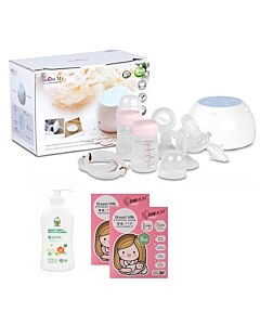Spectra M1 Double Electric Breastpump (Rechargeable) + FREE GIFTS worth RM50!