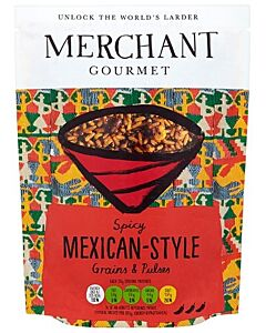 Merchant Gourmet: Spicy Mexican-Style Grains & Pulses 250g