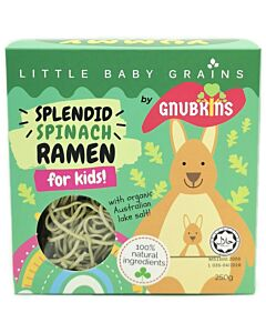 Little Baby Grains: Splendid Spinach Ramen for Kids - 12% OFF!!