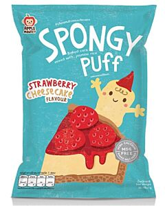 Apple Monkey: Spongy Puff - Strawberry Cheesecake Flavour 20g - 10% OFF!!