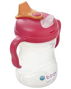 B.Box: Spout Cup 240ml/8oz | Raspberry (4+ Months) - 23% OFF!!