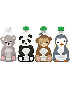 Squooshi: Storage Pouch Large 4 Pack - 22% OFF!!