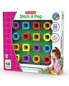 The Learning Journey: Techno Kids - Stack A Peg - 40% OFF!!
