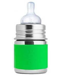 Pura Kiki: Stainless Steel Bottle Infant Bottle 5oz/150ml (Green) - 27% OFF!!
