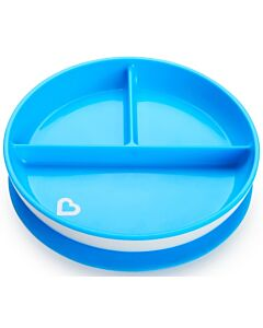 Munchkin: Stay Put™ Suction Plate - Blue (6+ Months)
