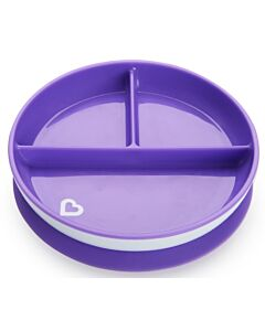 Munchkin: Stay Put™ Suction Plate - Purple (6+ Months)