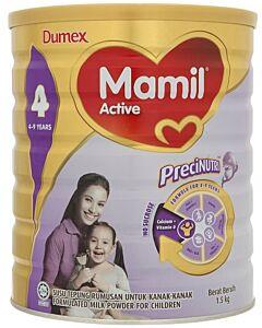 Dumex Mamil Active Step 4 (4-6 years) 1.5kg