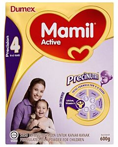 Dumex Mamil Active Step 4 (4-6 years) 600g