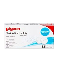 Pigeon Sterilizing Tablets (32 Tablets) - 25% OFF!