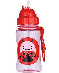 Skip Hop: Zoo Straw Bottle - Ladybug - 15% OFF!