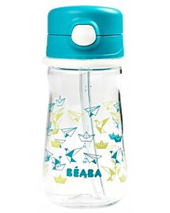 Beaba: Straw Cup 350ml (8+ Months) (Blue) - 20% OFF!!