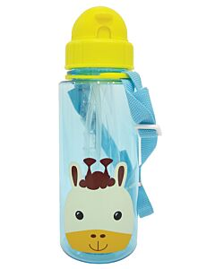 Snapkis: Straw Water Bottle 500ml | Giraffe - 30% OFF!!