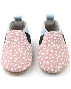 Bebebundo: Sunset Spots Shoes in Pink & Light Blue - Size 4 [13.4cm / 12 to 18 Months] - 16% OFF!!