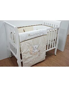 Happy Cot: Bedding Set - Sweet Bear - 10% OFF!!