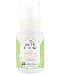Earth Mama Baby Sweet Orange Baby Wash 160ml