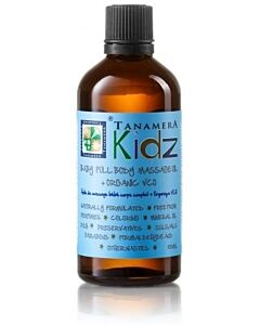 Tanamera Kidz Baby Full Body Massage Oil + Organic VCO 100ml - 20% OFF!!
