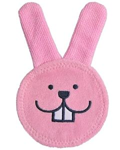 MAM Oral Care Rabbit Teething Glove (0+ Months) - Pink - 15% OFF!!