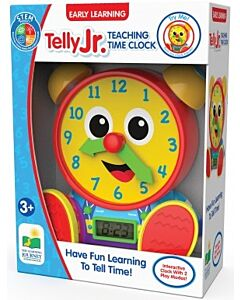 The Learning Journey International Telly Jr. Teaching Time Clock (Primary Version) - 10% OFF!!