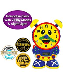 The Learning Journey Telly The Teaching Time Clock & Night Light (3 Years+) - 10% OFF!!