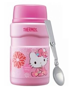 LIMITED EDITION! Thermos Hello Kitty 710ml Stainless King Food Jar with Spoon - 26% OFF!!