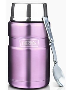 Thermos: Vacuum Insulated Stainless Steel King Food Jar 710ml (Purple) (SK3022) - 22% OFF!!