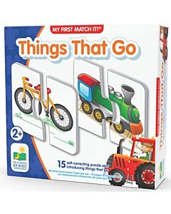 The Learning Journey My First Match It! Things That Go - 15% OFF!!