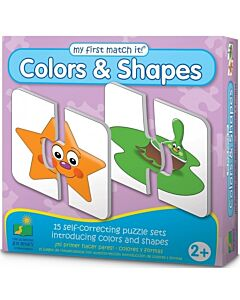 The Learning Journey My First Match It! Colors and Shapes - 15% OFF!!