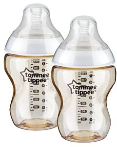 Tommee Tippee: Closer to Nature PPSU Bottle with Super Soft Teat (260ml/9oz) *2 Pack* - 10% OFF!!