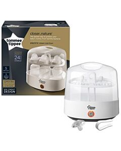 Tommee Tippee: Closer To Nature - Electronic Steam Steriliser Gen 2 - 47% OFF!!