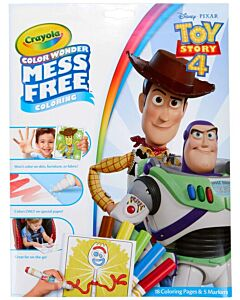 Crayola Color Wonder Mess Free Markers - Toy Story 4 - 20% OFF!!