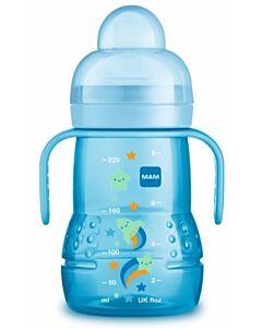 MAM Trainer+ 220ml/8oz (Spill-free Extra Soft Spout) (4+ Months) - Blue