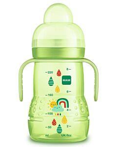 MAM Trainer+ 220ml/8oz (Spill-free Extra Soft Spout) (4+ Months) - Green