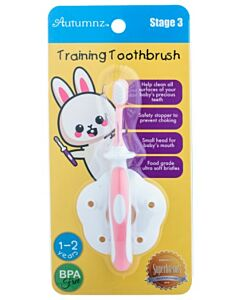 Autumnz: Training Toothbrush (Stage 3) | Pink - 10% OFF!!