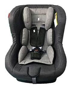Snapkis Transformers Car Seat (0-4 years) - Grey Melange / Black - 20% OFF!!