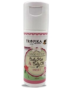 Tropika: Baby Hair and Body Oil - Sweet (30ml) - 11% OFF!!