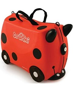 Trunki Ride-On Little Luggage for Little People - Harley Ladybug - 20% OFF!