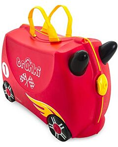 Trunki Ride-On Little Luggage for Little People - Rocco The Race Car - 15% OFF!!